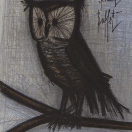 """Buffet Bernard  """"The Little Owl"""""""