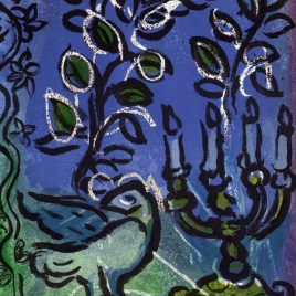 """Chagall Marc, """"Candlestick – 1962"""""""