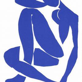 "Matisse Henri, ""Nu Bleu 4″"