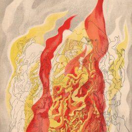"""Rattner Abraham, """"V1-Fire"""""""